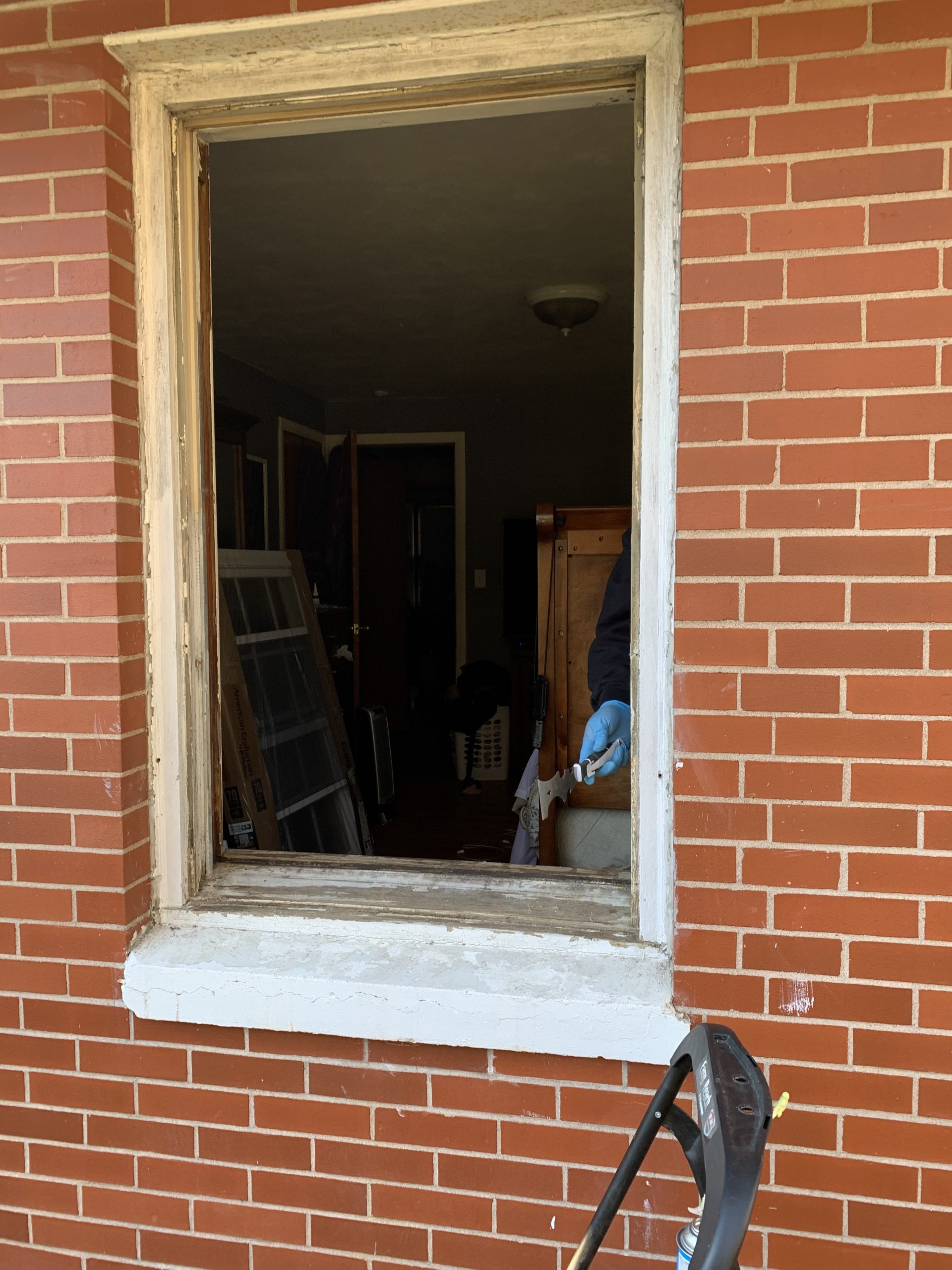 DIY replace windows
